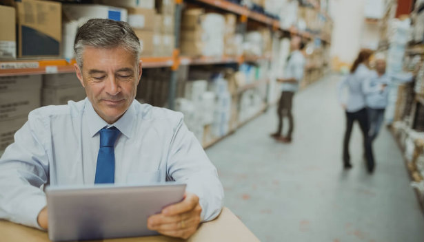 Como um software auxilia na gestão da cadeia de suprimentos?