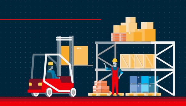 Como funciona a cadeia de suprimentos?